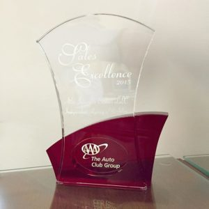 AAA Agency of the Year Trophy