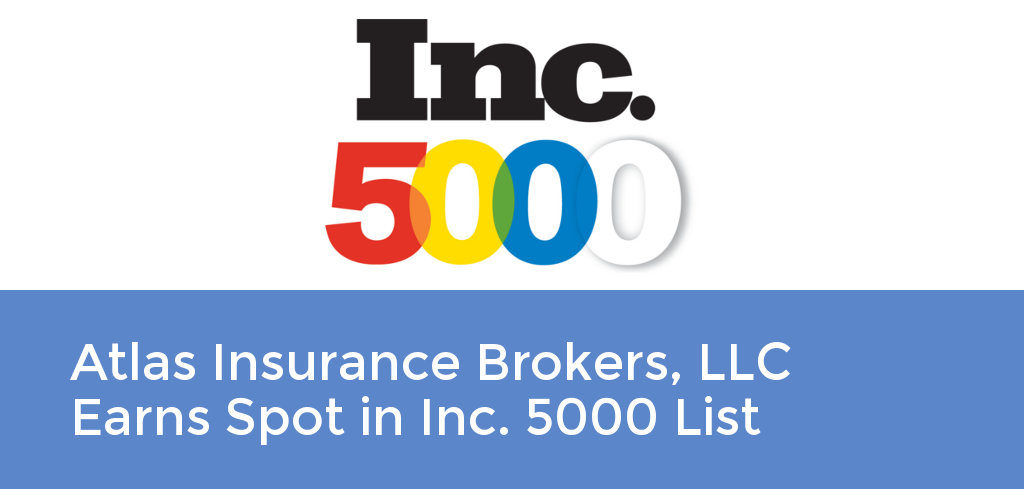 Atlas Insurance Brokers, LLC Earns Spot in Inc. 5000 List
