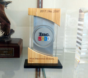 Inc. 5000 Trophy