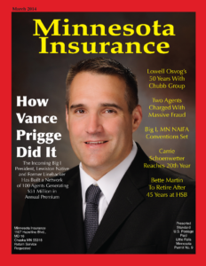 Atlas Insurance Brokers, LLC President Featured on Cover of Minnesota Insurance Magazine