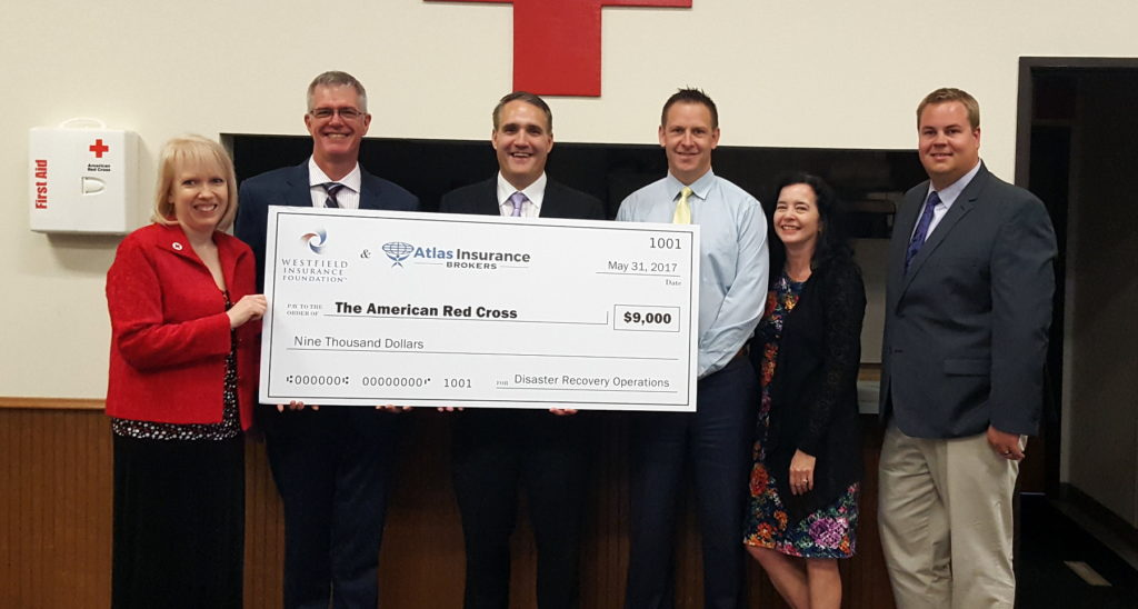 SE MN Red Cross Receives $9,000 Grant With Help of Atlas Insurance Brokers