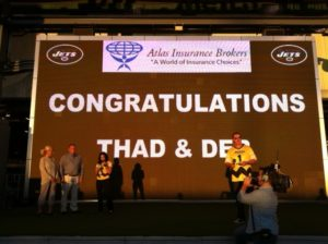 Atlas Agents Attend MetLife Monday Night Football Event
