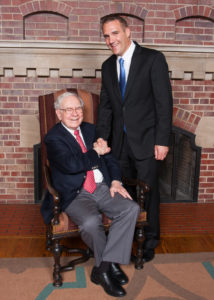 Atlas Insurance Brokers, LLC President Meets Warren Buffett