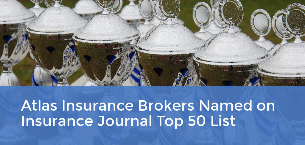 Atlas Insurance Brokers Named on Insurance Journal Top 50 List