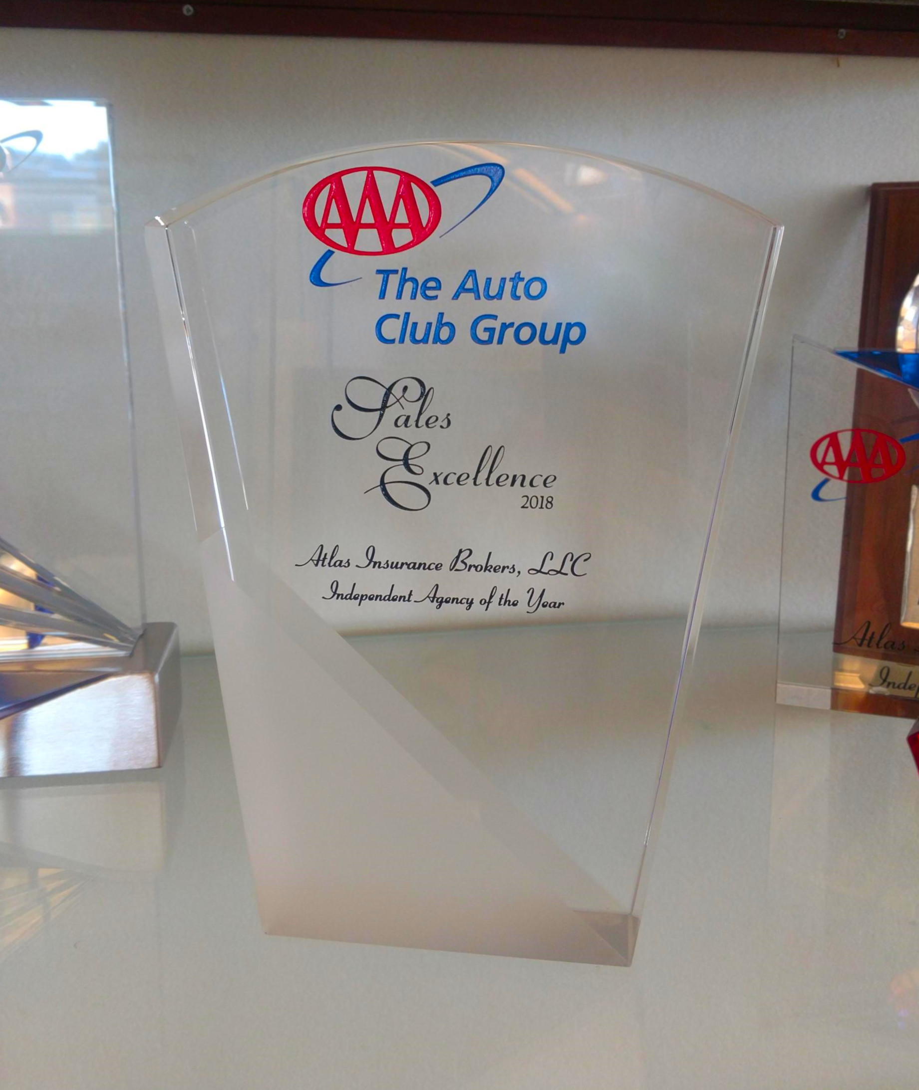 Aaa Auto Club Near Me >> Aaa Names Atlas 2018 Agency Of The Year Atlas Insurance