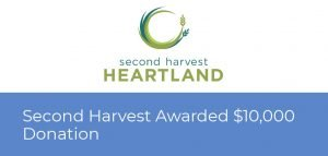 Second Harvest Awarded $10,000 by Atlas Insurance and Liberty Mutual